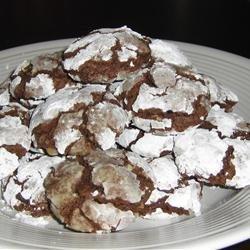 Brown Sugar Chocolate Crackle Cookies recipe