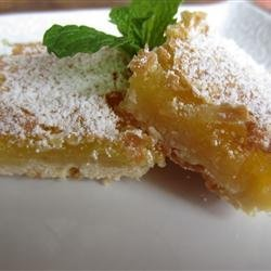 Lemon Squares II recipe