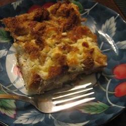 Savory Rosemary Bread Pudding recipe