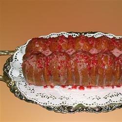 Cherry Almond Pound Cake recipe