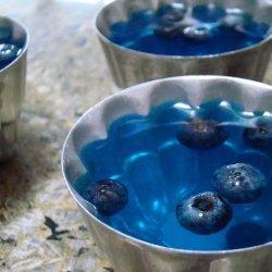 Blueberry Gelatin Mold recipe