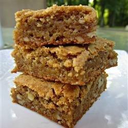 Butterscotch Brownies II recipe