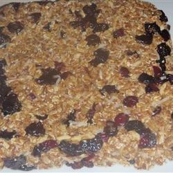 Fruity Granola Bars recipe