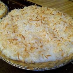 Coconut Cream Pie VIII recipe