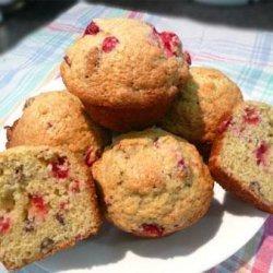 Cape Cod Cranberry Muffins recipe