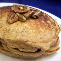 Sweet Potato Pecan Pancakes recipe
