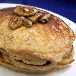 Sweet Potato Pecan Pancakes recipe
