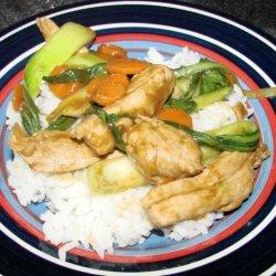 Pork and Bok Choy Stir Fry recipe