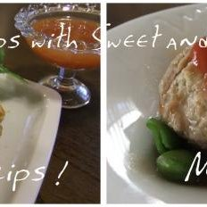 Chicken Strips with Sweet and Sour Sauce recipe
