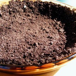 Yummy Chocolate or Gingersnap Cookie Crumb Pie Crust recipe