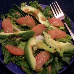 Suzanne's Avocado and Grapefruit Salad recipe