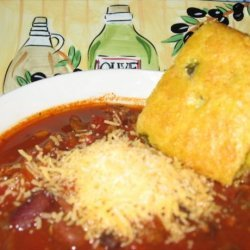 Full Flavor Crock Pot Turkey Chili recipe
