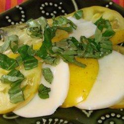 Easy Caprese (Insalata) recipe