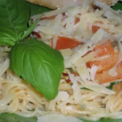 Angel Hair Pasta With Basil & Tomatoes recipe