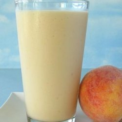 Peach Pick Me up Smoothie recipe