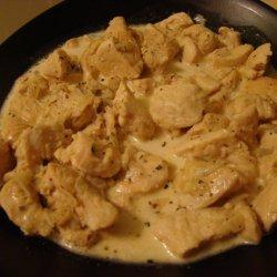 Chicken with Mustard and Tarragon Cream Sauce recipe