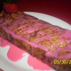 Almond and Strawberry Bread recipe