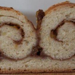 Cinnamon Swirled Apple Bread recipe