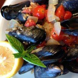 Mussels Josephine recipe
