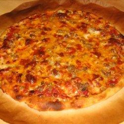 Amazing Thin Crust Pizza recipe