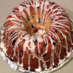Blueberry Cream Cheese Pound Cake recipe