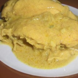 Not Your Serious Chicken Curry recipe