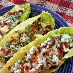 Creamy Pea Salad recipe