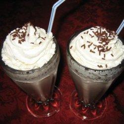 Frozen Hot Chocolate recipe