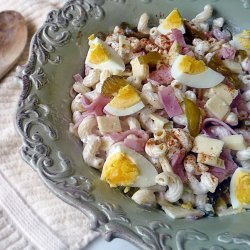 Macaroni and Cheese Salad recipe