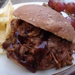 Barbecued Pulled Pork recipe