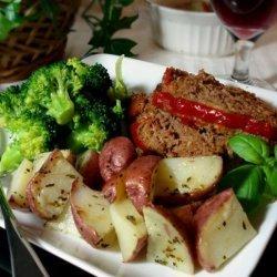 Easy Microwave Potatoes recipe