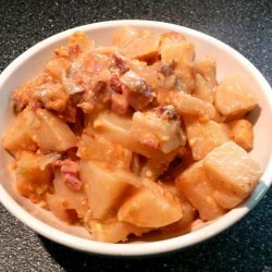 Weight Watchers Crock Pot Ham & Potatoes Au Grautin recipe