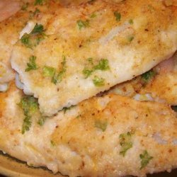 Oven Baked Fish Fillets With Parmesan Cheese recipe
