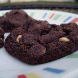 Chocolate Chai Latte Cookies recipe