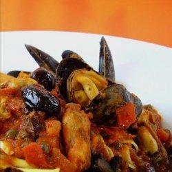 Mussels Fra Diavola recipe