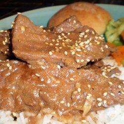 Korean Beef  Bulgogi in Lettuce Wraps recipe