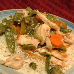 Chicken 'N' Vegetable Stir Fry recipe