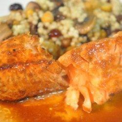 Ww Grilled Salmon With Teriyaki Sauce - 4 Points recipe