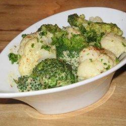 Broccoli and Cauliflower in Mustard Sauce recipe