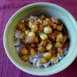 Crock Pot Curry (Aloo Rajma) recipe