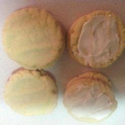 Lemon Pudding Sugar Cookies recipe