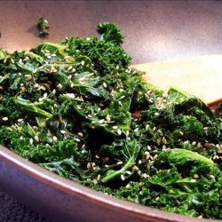 Kale and Ginger Stir Fry recipe