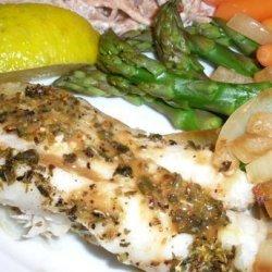Cod With Oregano recipe