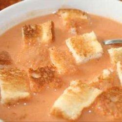 Tomato Cheese Soup recipe