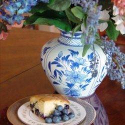 Blueberry Sour Cream Cake recipe