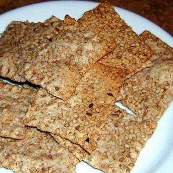 Crispy crackers recipe