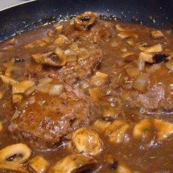 Weight Watcher Quick & Easy Salisbury Steak recipe