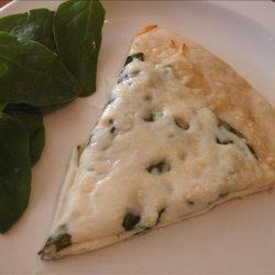 The Best Spinach Alfredo Pizza Ever recipe