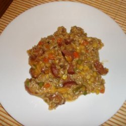 Colorful Kielbasa recipe