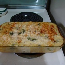My Mom's Chicken Broccoli Rice Casserole recipe